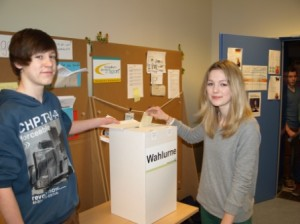 Demokratie lebt vom Mitmachen: Juniorwahlen am Gymnasium