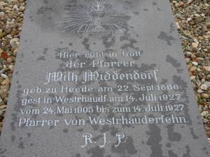 Grabstein St Bonifatius I