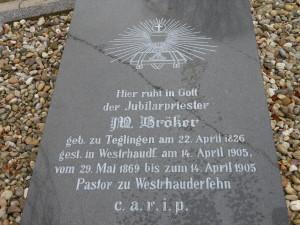 Grabstein St Bonifatius II