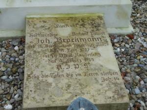 Grabstein St Bonifatius III